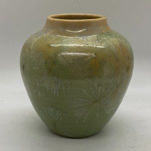 RAY WEST Sequoia Art Pottery Crystaline Vase